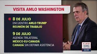 La agenda del presidente en Estados Unidos | Noticias con Ciro Gómez Leyva