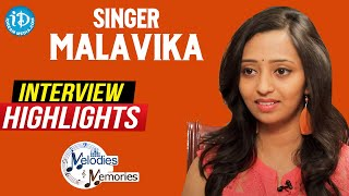 Singer Malavika Exclusive Interview Highlights | Melodies And Memories | iDream Movies - IDREAMMOVIES