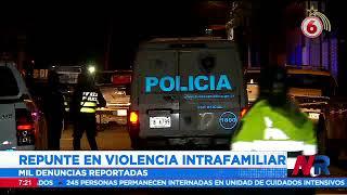 Más de 17 mil personas han sido detenidos por violencia intrafamiliar