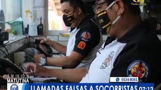 Socorristas piden no realizar llamadas falsas sobre covid-19