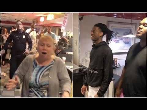 connectYoutube - Boonk Has A Stand Off With Security At Denny's Restaurant