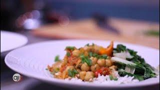 Receta Ají: Curry rojo de vegetales con pollo
