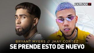 """JHAY CORTEZ"" Y ""HAZE"" SE LA DEJAN CAER A ""BRYANT MYERS"""