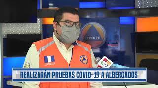Albergados por tormenta tropical Amanda deberán hacerse prueba de coronavirus