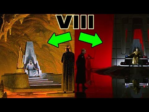 Why SNOKE'S Throne Room is BLOOD Red (CANON) - Star Wars The Last Jedi Explained