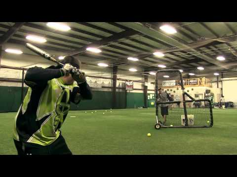 2014 DeMarini CF6 Fastpitch Bat: Crystl Bustos Review Video