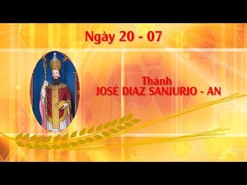 Ngày 20 - 07: Thánh JOSÉ DIAZ SANJURJO - AN