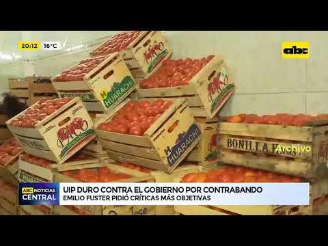 UIP duro contra el gobierno por contrabando