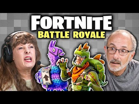 connectYoutube - FORTNITE: BATTLE ROYALE (Elders React: Gaming)