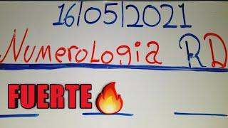 NÚMEROS PARA HOY 16/05/21 DE MAYO..!! NUMEROLOGIA RD