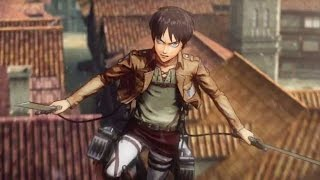Attack on Titan Official Japanese Gameplay Trailer