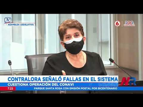 Contralora criticó la acción del Conavi en su comparecencia ante comisión del caso Cochinilla