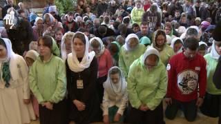Sarbatoarea Cincizecimii in Lavra Sfintei Treimi si Sfantul Serghie 2017