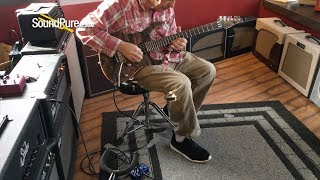 Suhr Modern Trans Blue Denim/Slate Guitar #25169 - Quick 'n' Dirty