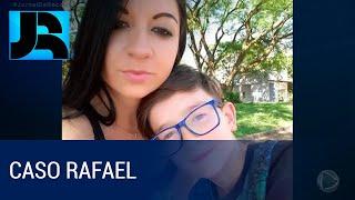 Mãe que confessou a morte do menino Rafael presta depoimento no RS