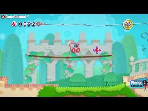 connectYoutube - Kirby's Epic Yarn Nintendo Wii Adventure Kids Platform Games