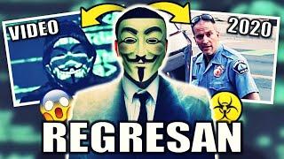 Anonymous REGRESA 2020 en ESPAÑOL || Mensaje y Explicación ||  Interfiere a Policía por George Floyd