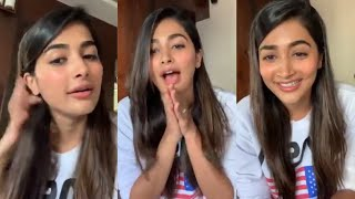 Pooja Hege  About Her Upcoming Movies | Pooja Hegde Live Chat With Fans | Rajshri Telugu - RAJSHRITELUGU