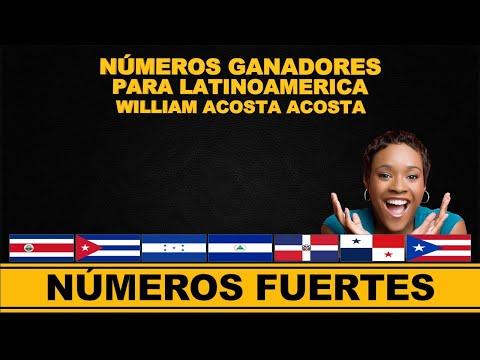 NUMEROS FUERTES PARA HOY   SOLO 3 NUMEROS LATINOAMERICA