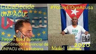 Agentes castristas continúan presionando y condicionando al preso político Maikel Herrera Bones.