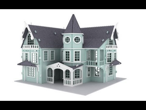 Free Dollhouse Plans Dxf Plans Diy Free Download Power