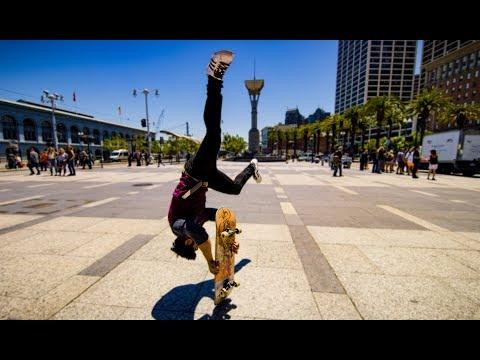 connectYoutube - Skateboard Parkour in 8k - Streets of San Francisco!