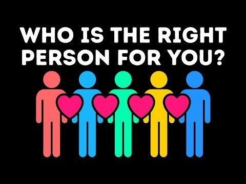 Who Is the Right Person for You? (Personality Test)
