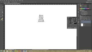 Photoshop CS6 Tutorial - 183 - Anti Aliasing Font