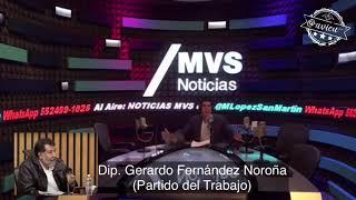 ¡Fernández Noroña insiste que le pedían usar el cubrebocas en el INE porque lo querían amordazar!