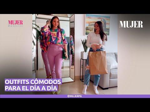 Aprende a armar outfits cómodos para el día a día | Mujer