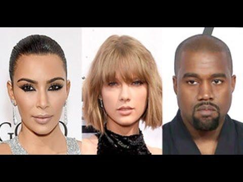 connectYoutube - Kim Kardashian Leaks Audio Of Taylor Swift Approving Kanye West's 'Famous' Lyrics Via Snapchat