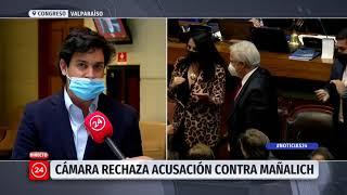 Diputados analizan rechazo de acusación constitucional contra Mañalich