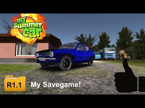My Summer Car Backup Save Game