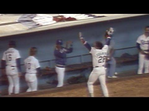 1981 NLDS Gm4: Guerrero's solo home run