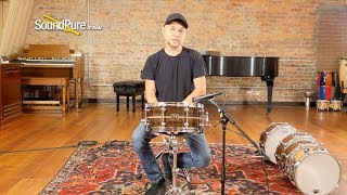 Metro Drums 6.5x14 Turpentine Stratosonic Ply Snare Drum—Quick 'n' Dirty