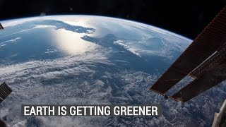 Rising CO2 Levels Greening Earth
