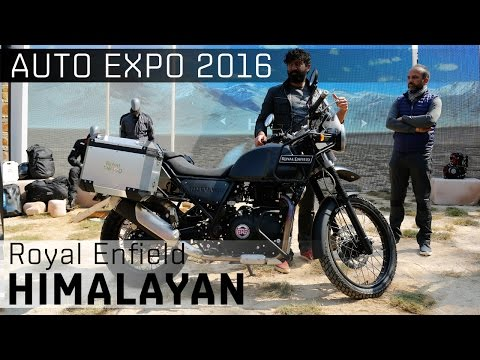 Royal Enfield Himalayan :: 2016 Auto Expo :: WalkAround Video