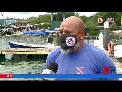 Golfito desarrolla proyecto de avisatamiento de ballenas
