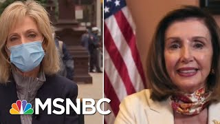 Pelosi Is 'Optimistic' About Reaching Agreement On Coronavirus Relief | Andrea Mitchell | MSNBC