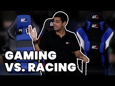 COMPARATIVO DE CADEIRAS GAMER: GAMING SERIES X RACING SERIES
