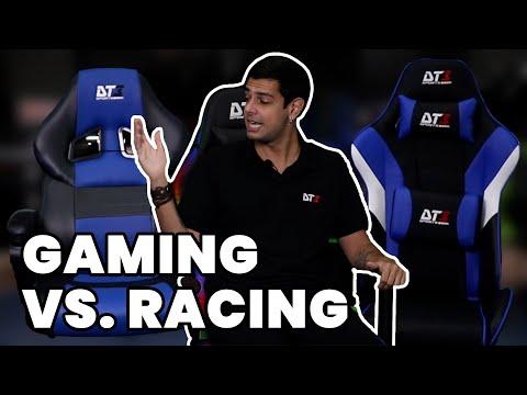 COMPARATIVO DE CADEIRAS GAMER: GAMING SERIES X RACING SERIES