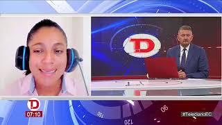 #Telediario   Entrevista a Mariana Quijije, Pdta. Aso. de Pesqueros Amigos del Mar