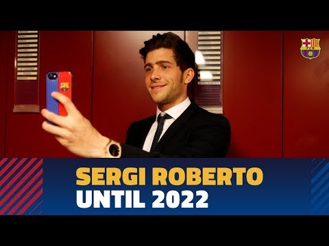 Sergi Roberto signs contract extension until 2022