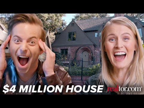 connectYoutube - Couple Tours A $4 Million Dollar Dream House • Ned & Ariel