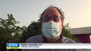Mark Golding Visits Top Hill Families | News  | CVMTV