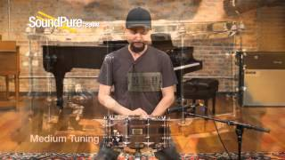 Tama 6.5x14 S.L.P. Series G Walnut Snare Drum - Quick n' Dirty