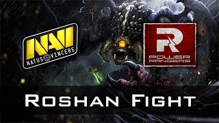 Na'Vi vs PR Roshan Fight | Excellent Moscow Cup Dota 2