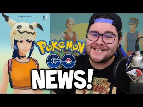 connectYoutube - NEW POKEMON GO TRAILER (with MASQUERAIN?!) & NEW CLOTHES IN POKEMON GO! (Pokémon GO Update News)