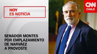 """Montes descartó crítica a Provoste y explicó que definición es para """"tomar una decisión ciudadana"""""""