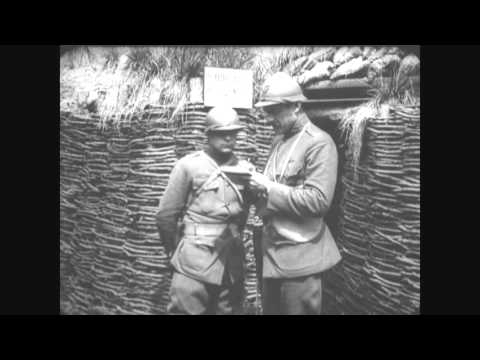 The 93rd Division, the focus of this film, was an African American unit which included the Harlem Hellfighters. Film courtesy of The National Archives and Records Administration.